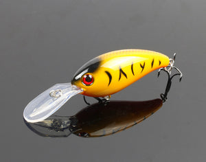 7pcs Wobbler Fishing Lure Crankbait Fishing Bait Peche Artificial Bait 10cm/15g Kosadaka Pesca Tackle Ima Megabass C59