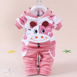 Baby Girl Boy autumn winter Clothes 10-24 Month