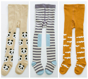 3Pair/lot Baby Children's Babys Kids Toddler Tights  Soft Cotton For 0-3Y