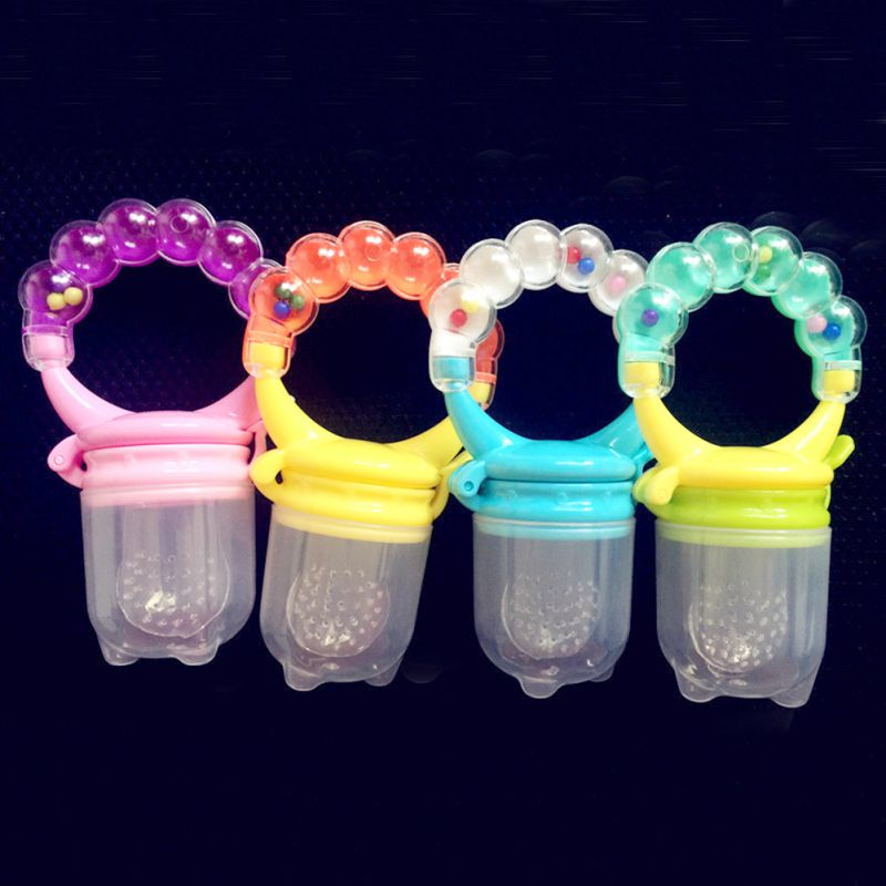 2017 New Style 0-36M Baby Hand Bells Pacifier Happy Bite Bag Kids Baby Safe Nipple Feeding Bottles