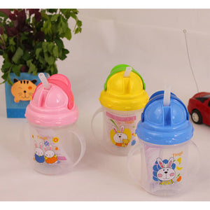 Baby Cup Water Bottle With Handles Newborn Feeding Drinking Cup Kettle For Baby