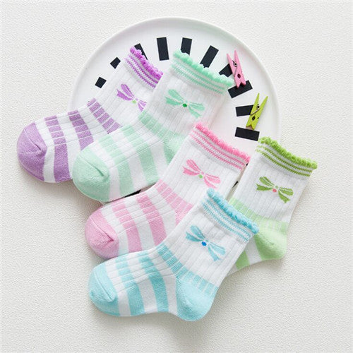 10 Pieces/lot=5Pairs Cotton New Born Baby Socks Short Socks Girls and Boys Socks