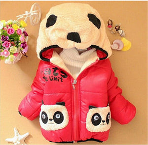 Boys and Girls Outerwear winter coat Baby girl and boy warm jacket Kids clothes for 1-4 Y