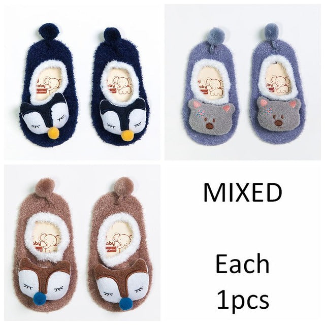 3pairs/lot Unisex Baby socks floor sock baby boys socks girls kids Children