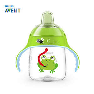 260ml/9oz Cartoon Baby Soft Spout Cup Water Drinking  Bottle  12m+
