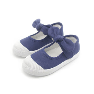 Baby Girl Shoes  With Bowtie Bow-knot Sweet Candy Color Girls Sneakers Children Soft Shoes 21-30