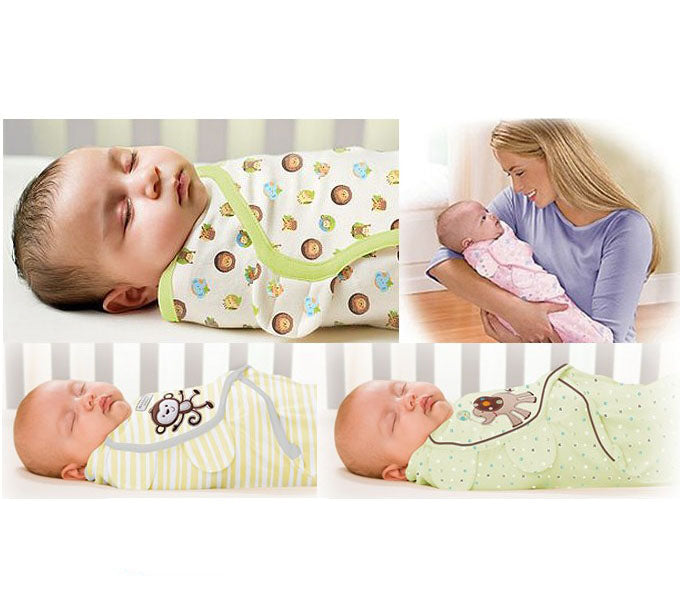 0-3 months Baby 100% Cotton Summer newborn swaddleme baby parisarc baby swaddle wrap