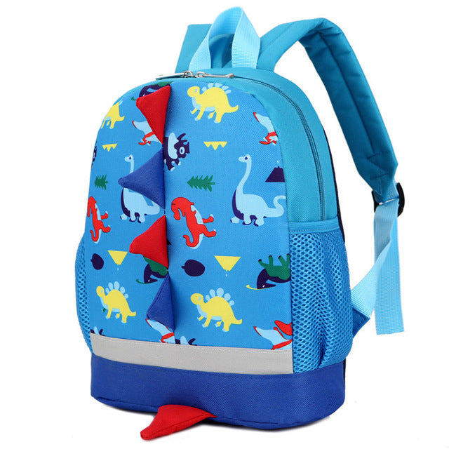 Cartoon Cute Backpack Kindergarten Bags for 1-3-5 Years Old Girls Boys School Bag