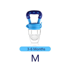 1Pcs Baby Pacifier Fresh Food Milk Nibbler Feeder Kids Nipple Feeding Safe