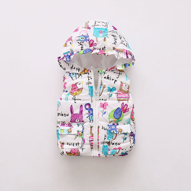 Girls Boys Jacket Fashion Cotton Clothing Kids Coat girl Winter Warm Casual Outerwear For 1-5