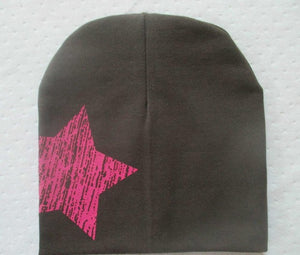 Baby Hat Boy Girl Toddler Infant Cap Cotton Cute Winter Star Hats