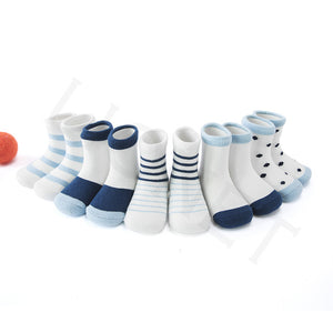 5 Pair/lot Baby Socks Children's Socks Color Face Boy Girls Kids Socks For Children 1-12 Year