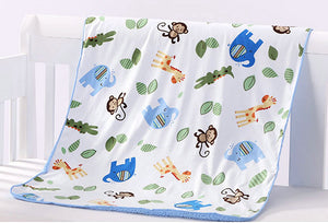 Double-deck Baby Blankets For Newborns,Baby Bed Linens Baby Sleeping Blanket Stroller Wrap