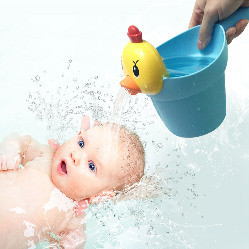 4pcs/set New Born Baby Bath Toys Cute Mini Chick Learning Educational Bathtub Beach Water Toys