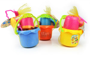 9pcs/set Baby Sand Playing Tool Beach Toys Buckets glasses watering