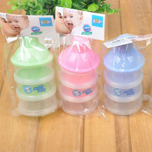 Infant Milk Rice Snack Bottle Storage Box Silica Feeding Bottle Food Supplement LL9