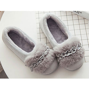 Women Shoes Winter Warm Home Slippers Home Shoes