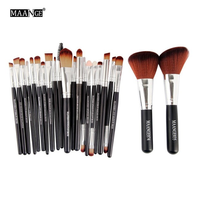 Professional 22 PCS Makeup Brushes Tools Set Foundation Powder
