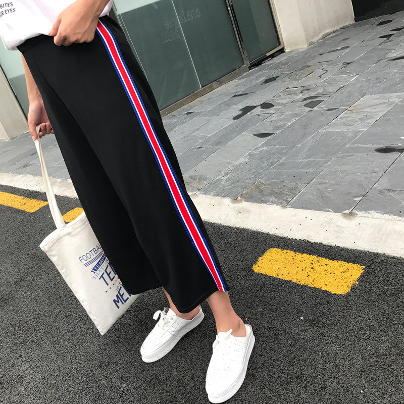 pants  new nine points pants spring and summer  casual pants loose straight
