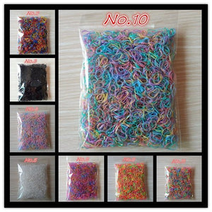 About 1000pcs (small package)  Child Baby TPU Hair Holders
