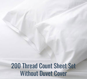 200 TC Sheet Set (Without Duvet Cover) - Player