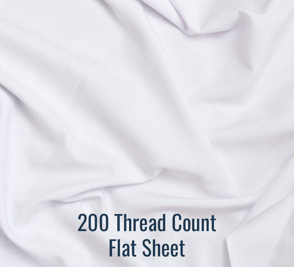 200TC Flat Sheet - Family® Size