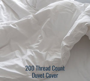 200TC Percale Duvet Cover - Ace Size