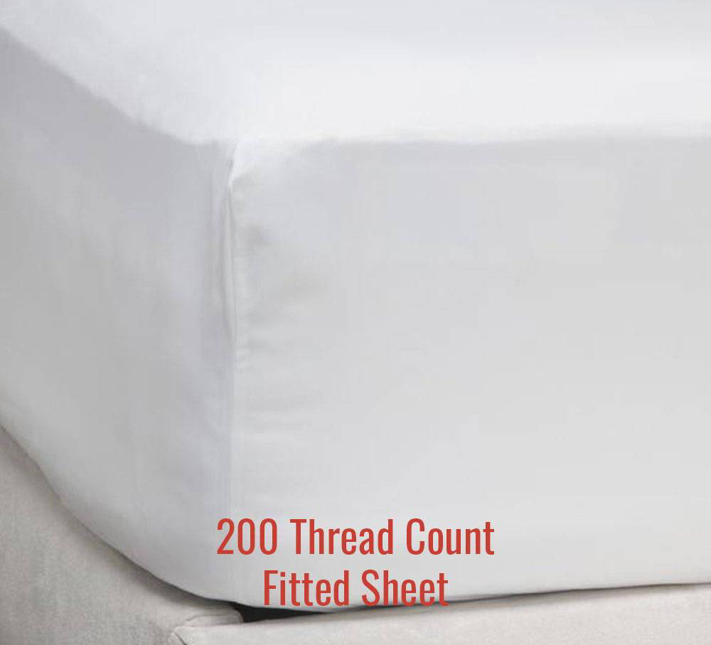 200TC Fitted Sheet