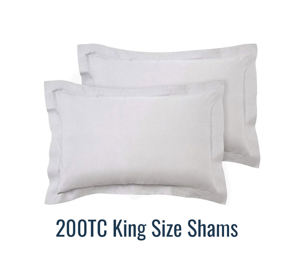 200TC King Size Shams