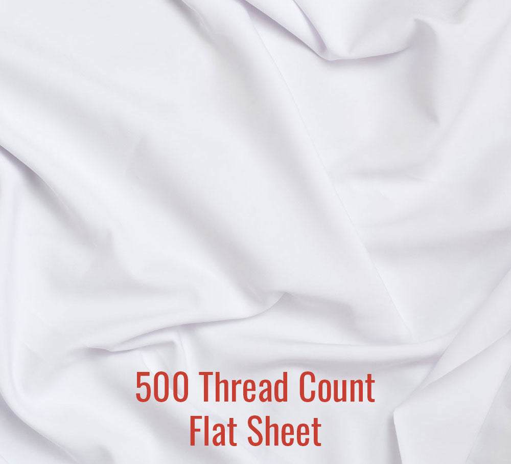 500TC Flat Sheet - Family® Size
