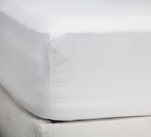 Fitted Sheet (Only) - 200 Thread Count - Ace Size - White