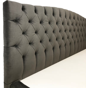 Curved Tufted Headboard - Ace Size