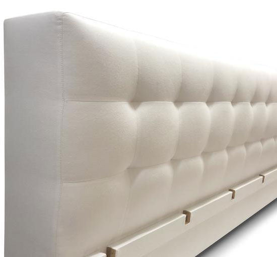 Modern Tufted Headboard - Family Size