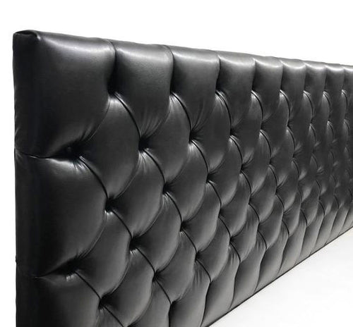 Straight Tufted Headboard - Player Size