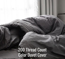 Load image into Gallery viewer, 200TC Color Duvet Cover - Family Size