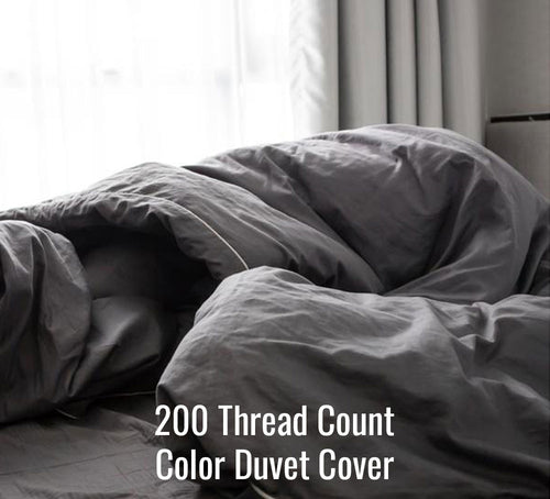 200TC Color Duvet Cover - Family