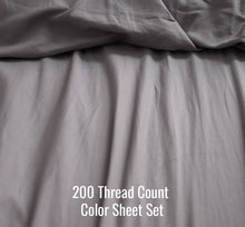 Load image into Gallery viewer, Color Sheet Set (Without Duvet Cover)