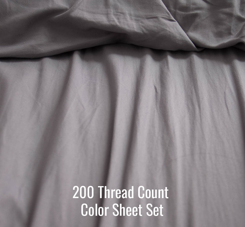 Color Sheet Set (Without Duvet Cover) - Ace