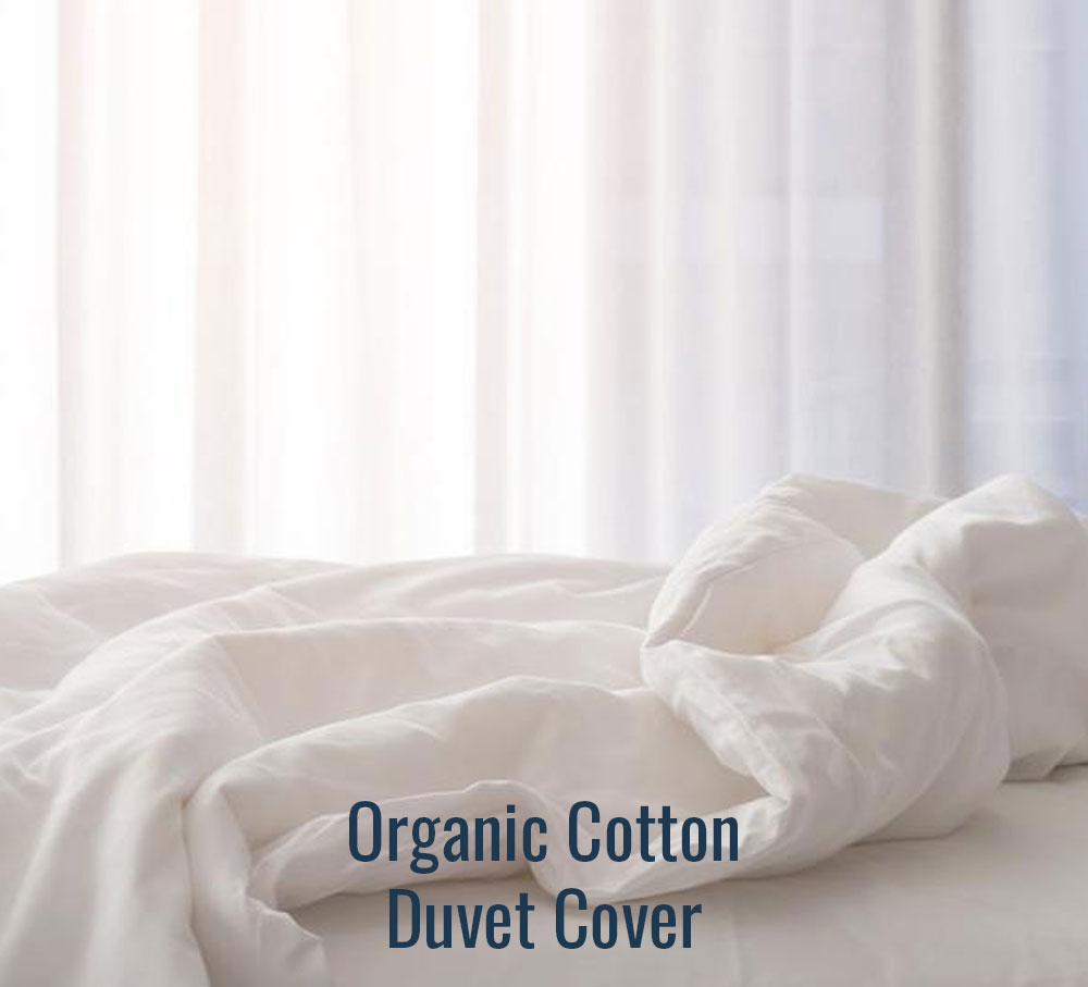 Organic Cotton Duvet Cover - Family Size