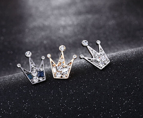 Elegant Crystal Crowns Brooches, Alphalifestyle.shop - Alphalifestyle.shop