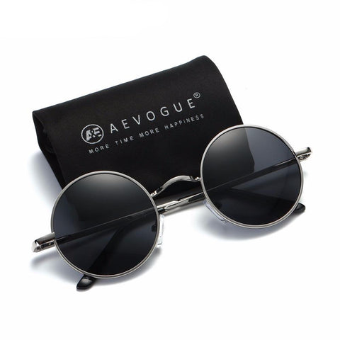 Round Polarized Unisex Sunglasses