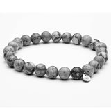 Grey Natural Stone Beads, Alphalifestyle.shop - Alphalifestyle.shop