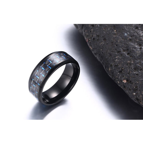 Fiber Men Ring 8mm, Alphalifestyle.shop - Alphalifestyle.shop
