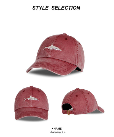 Shark Dad Cap