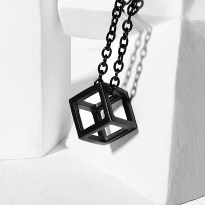 Cube Necklace, Alphalifestyle.shop - Alphalifestyle.shop