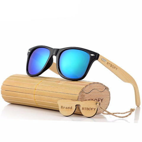 Bamboo Wood Sunglasses ★★★★★, Sunglasses, - Alphalifestyle.shop