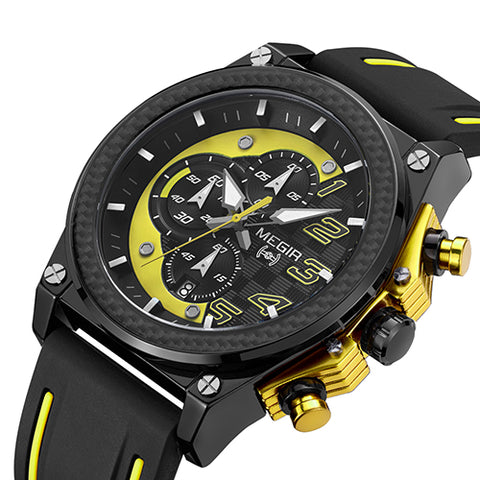 """Race Driver"" Watch ★★★★★, Alphalifestyle.shop - Alphalifestyle.shop"