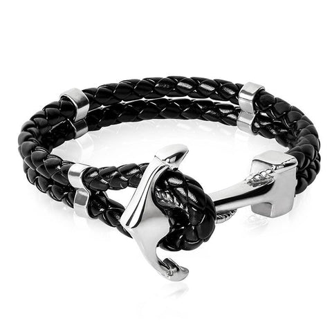 Fashion Stainless Steel Anchor Bracelet