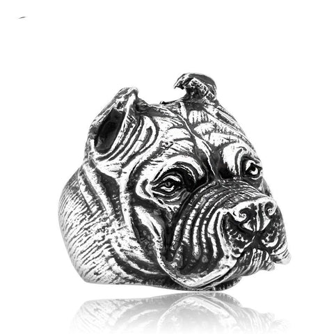 Titanium Dog Ring, Alphalifestyle.shop - Alphalifestyle.shop
