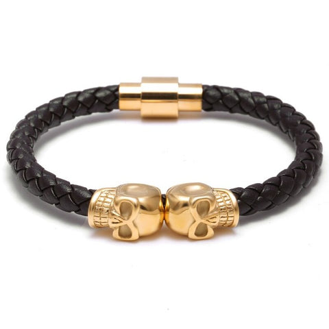 Double Skeleton, Bracelet, - Alphalifestyle.shop